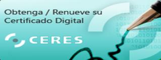 CERES certificado digital si eres persona física