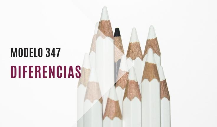 Diferencia cantidades modelo 347