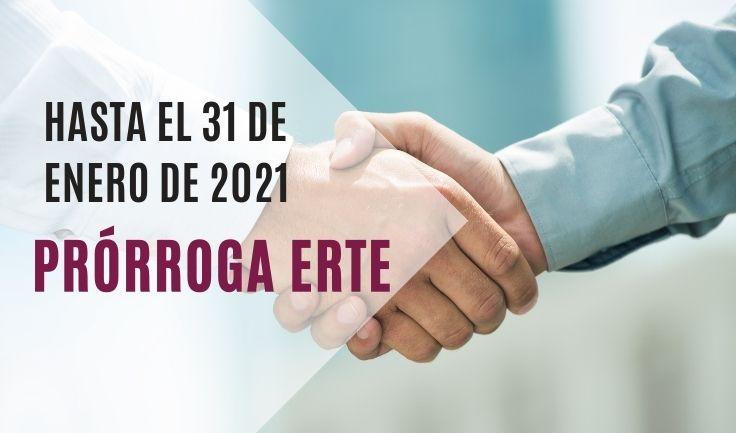 ERTE-prorrogados hasta el 31 de enero de 2021