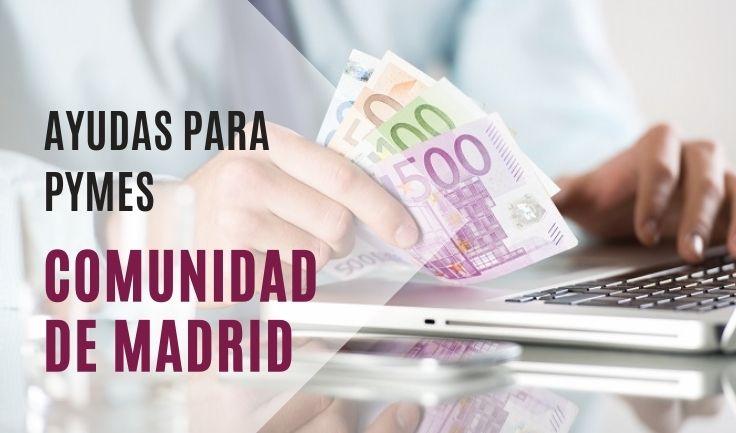 Ayudas CAM para PYMES. COVID19